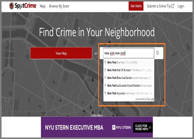 Spot Crime 1